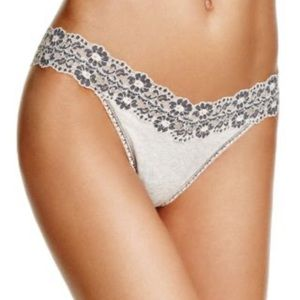 Original Rise Heather cross dye Thong